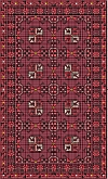 New Afghan rug kit wool